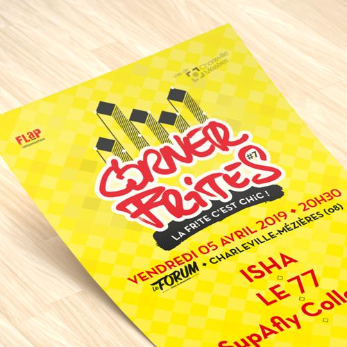 Affiche concert Corner Fritess