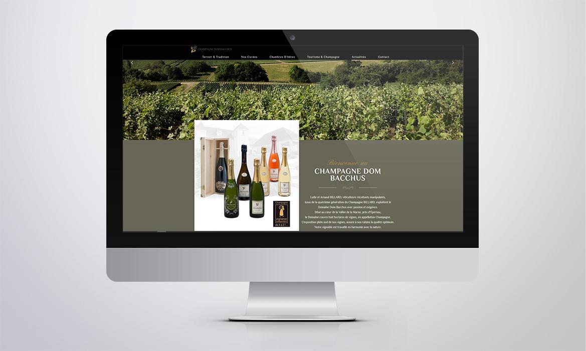 Champagne Dom Bacchus
