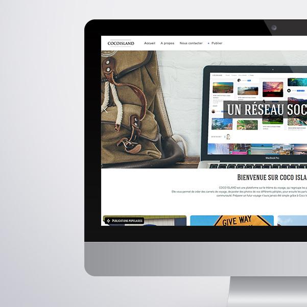 Site internet Cocoisland